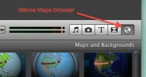 iMovie Maps Browser