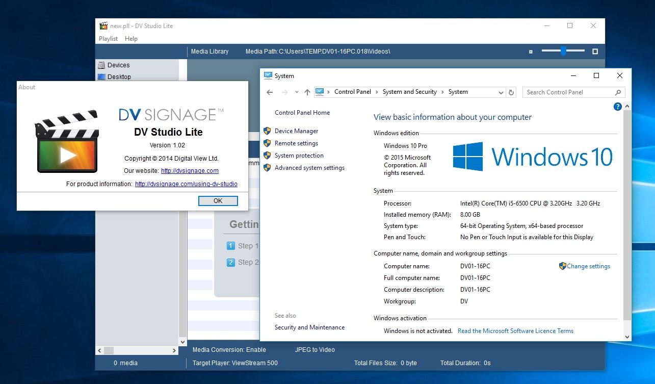 DV-Studio-Lite-Windows-10