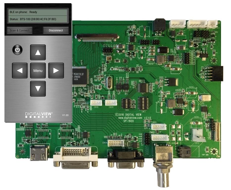 Digital View Bluetooth app