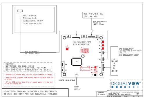 DD-1920-HDMI-EDPT AUO G101UAN01.0