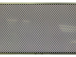 digital-view checkerboard test pattern